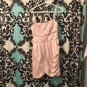 H&M pink convertible dress
